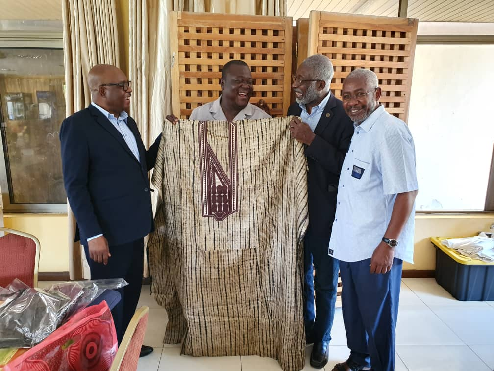 WACREN Bids Farewell to Immediate Past Executive Secretary of VCG and Pays a Courtesy Visit to his Successor