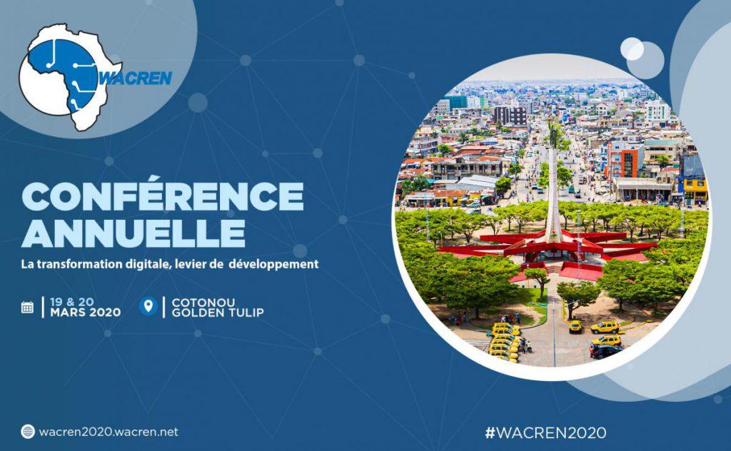 Inscrivez-vous à WACREN 2020. Venez nous rejoindre à la vibrante Cotonou!