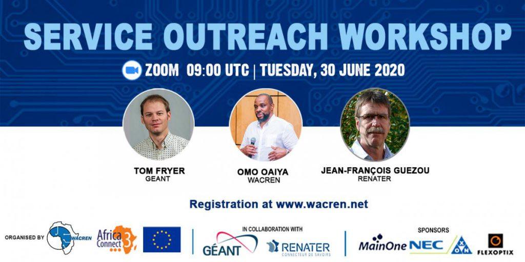 WACREN to Hold Service Outreach Workshop on REN Services