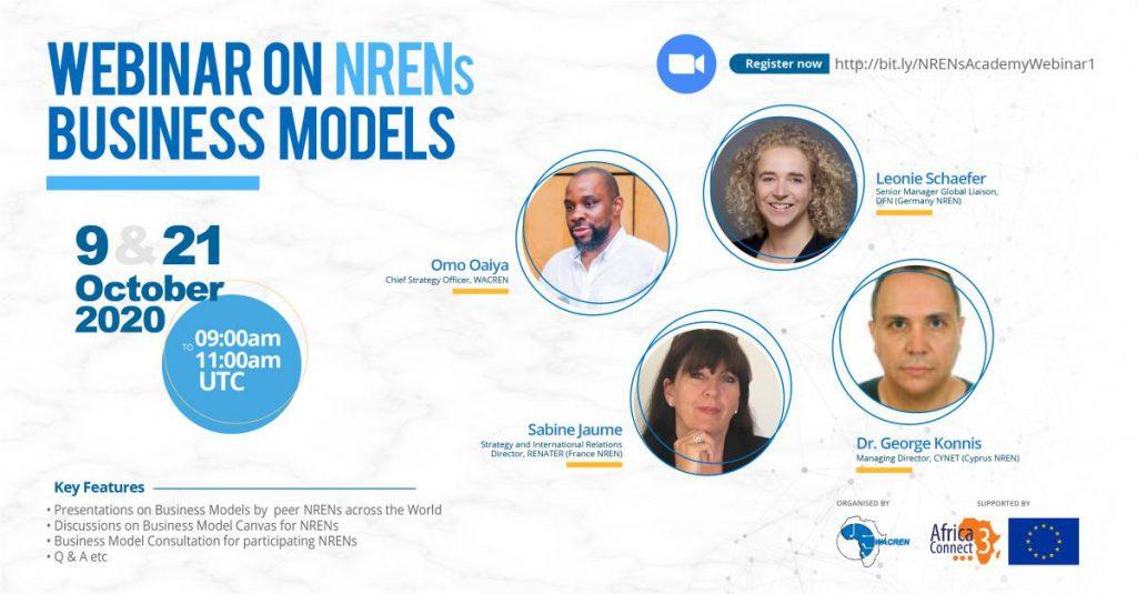 WACREN holds webinar for NRENs on business models
