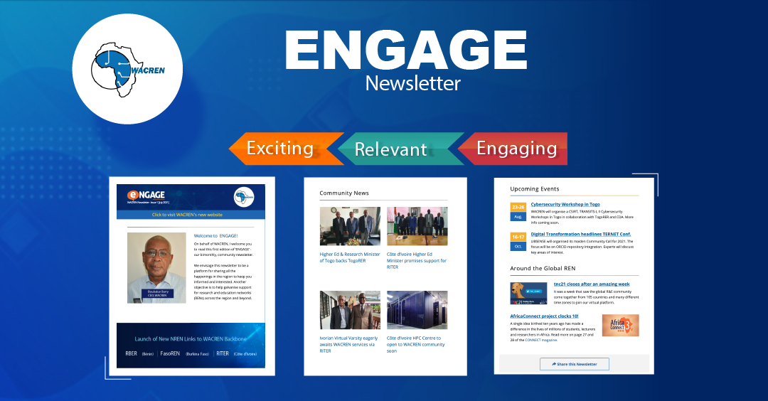 Welcome to 'ENGAGE' - CEO