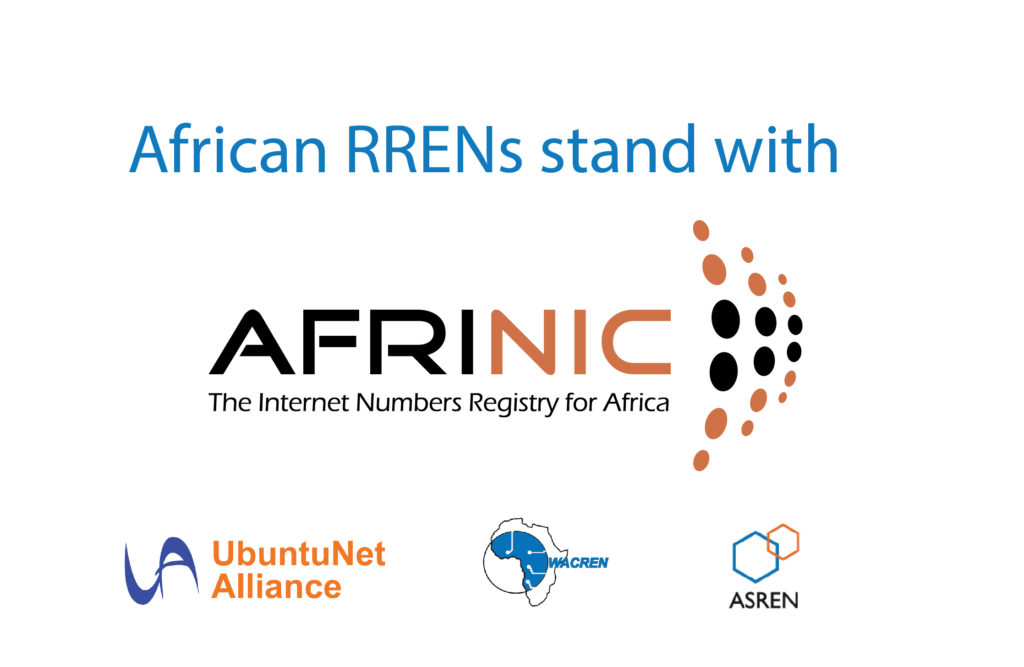African Regional RENS' Joint Statement on the Current Situation at AFRINIC