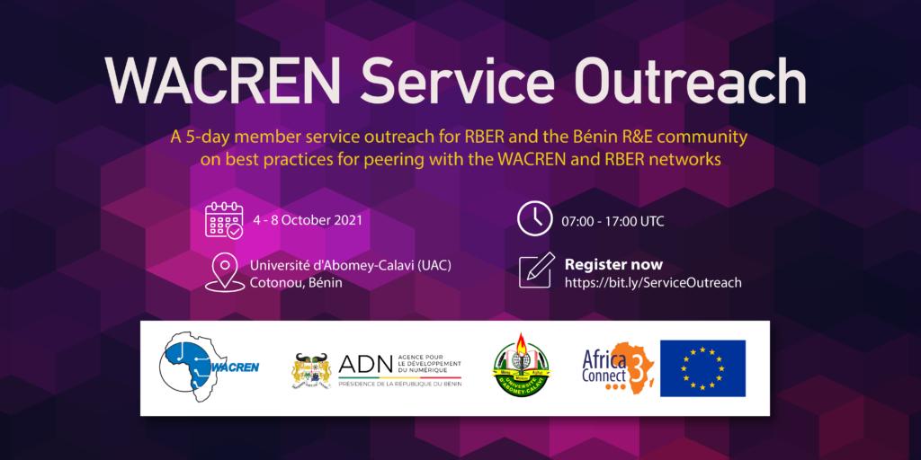 WACREN Service Outreach in Bénin